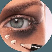 درمان تیرگی دور چشم